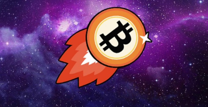 Bitcoin Moon Rocket