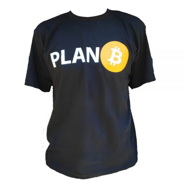 Plan B Bitcoin T-Shirt Black